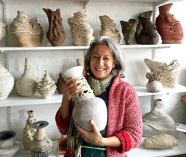 Linda Dangoor | Artist | With my claywork collection